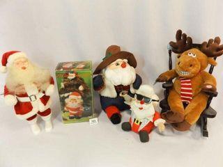 Santas  4  Reindeer in Rocker
