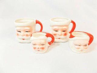 Vintage Christmas Cups  4  Japan