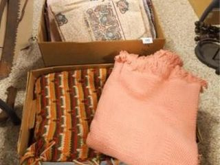 linens   Sheets  Blankets  Throws  Etc