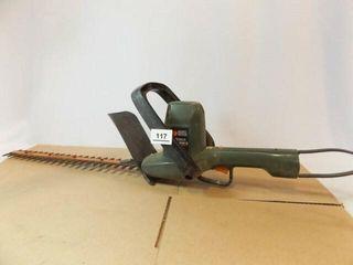 Black   Decker Electric Hedge Trimmer