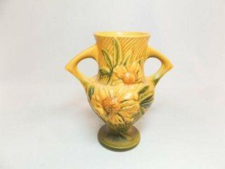 Roseville Vase  with Handles  61 2