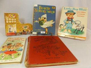40 s  50 s  60 s Nursery Rhyme Books  5