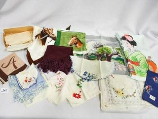 Handkerchief s  Various themes  HorsesIJ