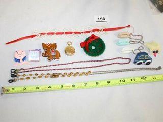 Eyeglass Chains  pins  phone keychains