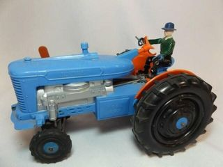 Blue Tractor  Hard Plastic  Battery 10