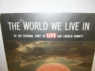 The World We live In  large Book