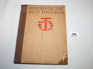 History of the 90th Division  Copyright 1920
