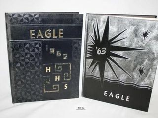 Hennessey Eagle Yearbook 1962 and 1963