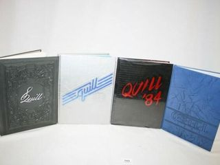 Quill Enid Highschool yearbooks  82   83   84