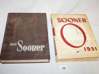 Oklahoma University Yearbooks The Sooner