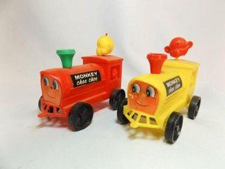 Monkey Choo Choo Train Cars  2