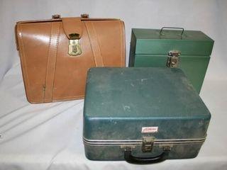 leather Briefcase  Porta file  Plastic Box