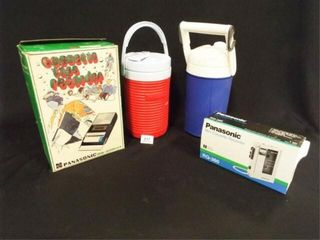 Cassette Recorders  2  Thermos   2