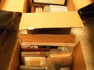 Picture Frames   Variety   2 Boxes