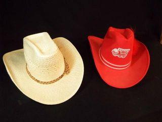 Western Hats   OU  size M  Straw  size 7