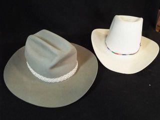 Western Hats   Stetson  size 6 7 8 in box