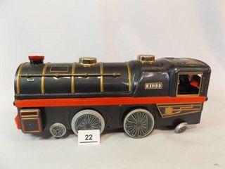 Tin locomotive  Battery   B  Japan  14