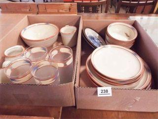 Noritake Stoneware  Glasses   2 boxes