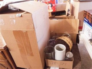 Baskets  Vases  Pillows  Greenery   4 Boxes