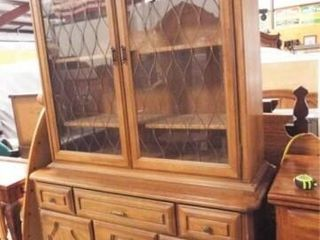 Buffet  two pieces  79  x 48  x 19