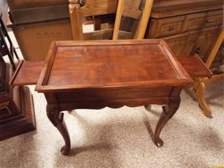 Accent Table with Side Extensions