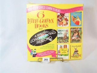 little Golden Books with Record