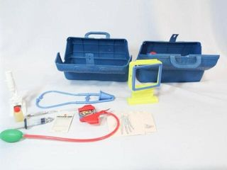 Toy Blue Box Medical Kits  2