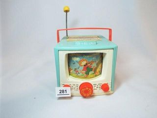Fisher Price Color TV Music Box