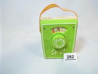Fisher Price Pocket Radio  1970