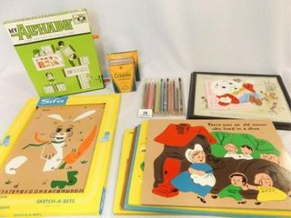 Wood Puzzles  Crayons  More  10