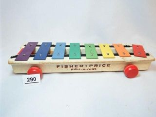 Fisher Price Wood Pull A Tune