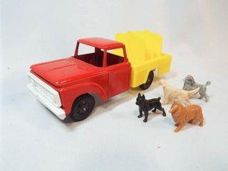 Tootsie 1967 Toy Ford Truck  Animals