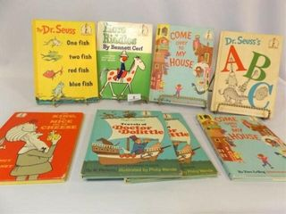 Dr  Suess labeled Books  8