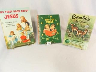 1939  1954  1953 large Children s Books