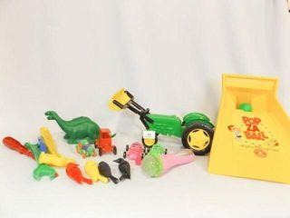 Plastic Toys   1 Box   Variety