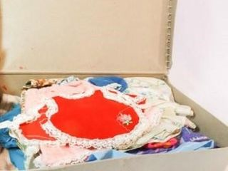Case with Doll Clothes  11  x 8  x 4