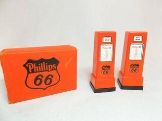 Phillips 66 Salt   Pepper Shaker in box