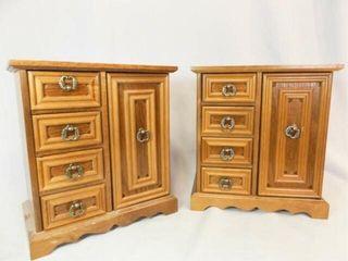 Wood Jewelry Boxes   Matching   2