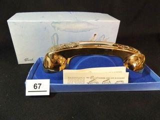 Raimond Gold Tone Telephone Cover