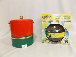 Ice Bucket  Margarita Ball