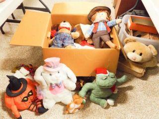 Plush Toys   Variety   large Box