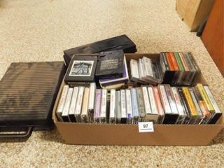 8 Track Tapes and Cassette Tapes  75