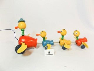 Fisher Price Wood Pull Toy