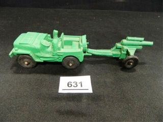 Auburn Rubber Co  Toy Jeep