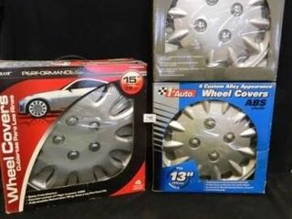 Plastic Wheel Covers  Assorted Sizes