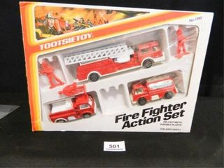 Tootsie Toy Fire Fighter Action Set
