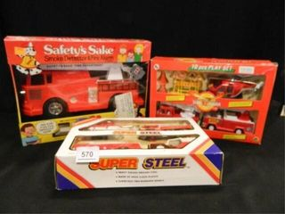Emergency Vehicle Play Sets  2