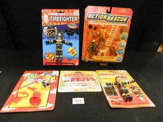 Firefighter Action Figures
