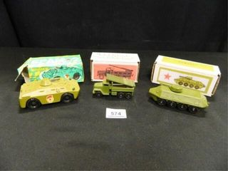 Foreign Made Army Toy Vehicles 3