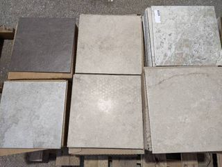 ASSORTED 12 X 12  AND 13 X 13  PORCElAIN TIlES  200 SF